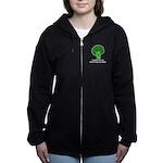 Broccoli Women's Zip Hoodie