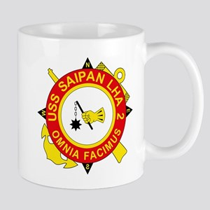 US Navy USS Saipan LHA 2 Mugs