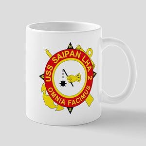 US Navy USS Saipan LHA 2 Mugs