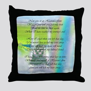Lick My Tears Away Throw Pillow