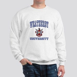 WEATHERBY University Sweatshirt