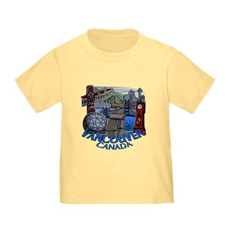 Vancouver Canada Souvenir Toddler T-Shirt
