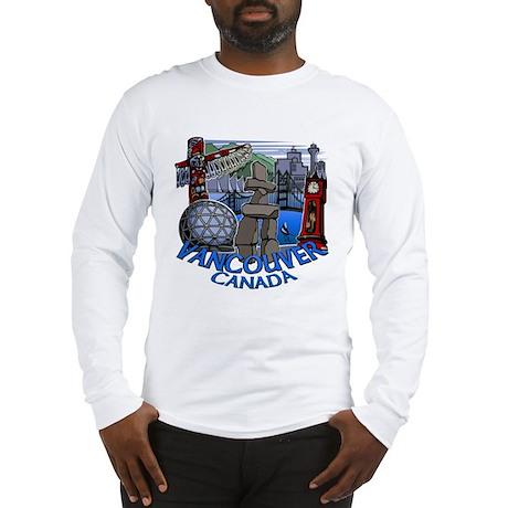 Vancouver Canada Souvenir Long Sleeve T-Shirt