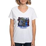 Vancouver Canada Souvenir Women's V-Neck T-Shirt