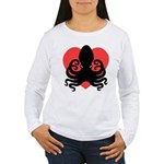 Octopus Heart Women's Long Sleeve T-Shirt