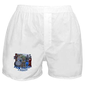 Vancouver Canada Souvenir Boxer Shorts