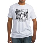 Vancouver Canada Souvenir Fitted T-Shirt