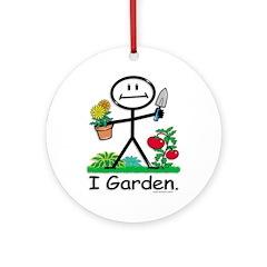 BusyBodies Gardening Ornament (Round)