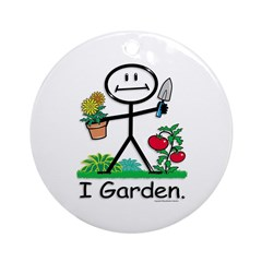 BusyBodies Gardening Ornament (Round)
