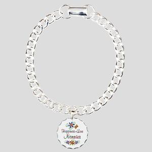 Nannies Love Charm Bracelet, One Charm