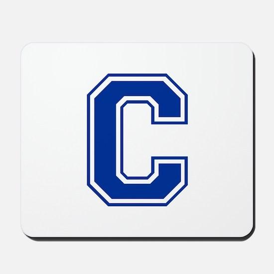 C-var blue2 Mousepad