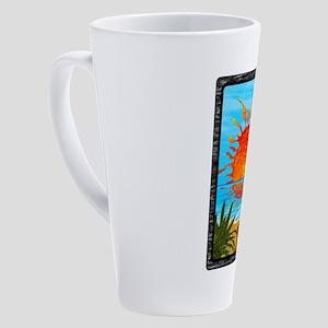 BEACH DAZE 17 oz Latte Mug