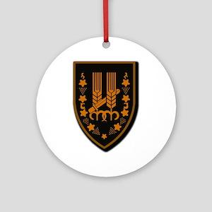 Harel.No Txt Ornament (Round)
