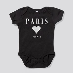 PARIS PLEASE Baby Bodysuit