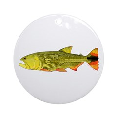Golden Dorado Ornament (Round)