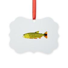 Golden Dorado Ornament