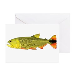 Golden Dorado Greeting Cards