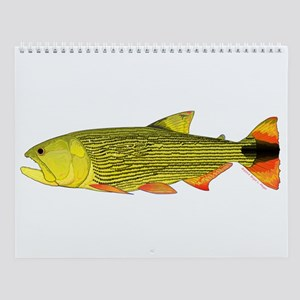 South American Fishes 2 Wall Calendar