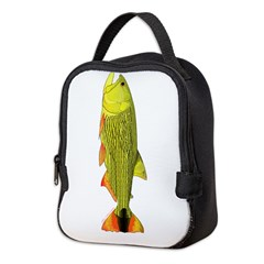 Golden Dorado c Neoprene Lunch Bag