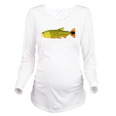 Golden Dorado c Long Sleeve Maternity T-Shirt