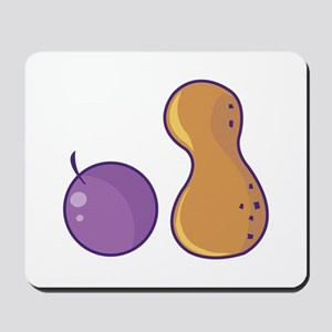 Peanut & Grape Mousepad