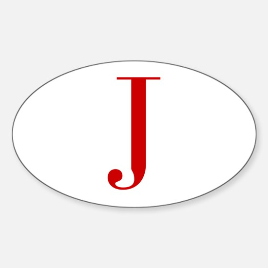 J-bod red2 Decal