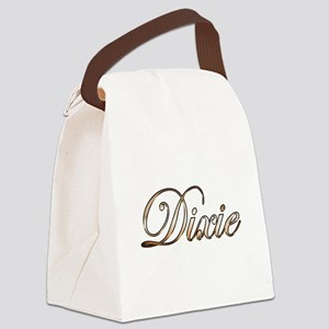 Gold Dixie Canvas Lunch Bag