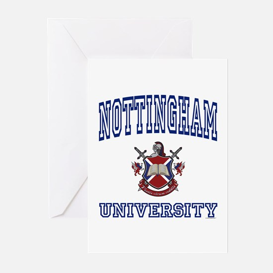 NOTTINGHAM University Greeting Cards (Pk of 10