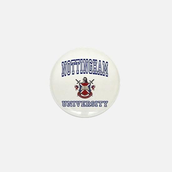 NOTTINGHAM University Mini Button