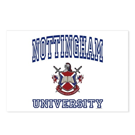 NOTTINGHAM University Postcards (Package of 8)