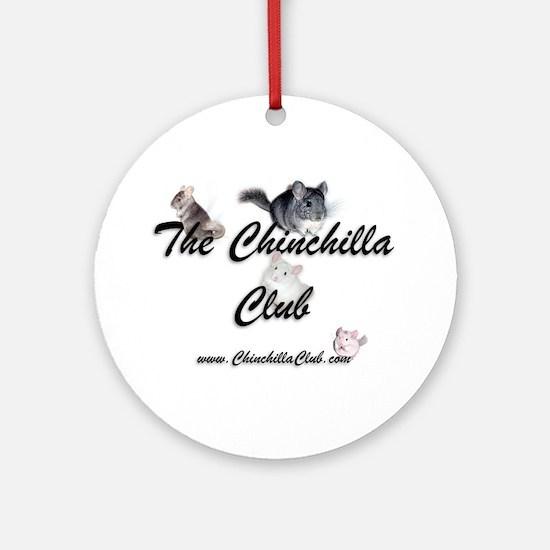 Chinchilla Club Ornament