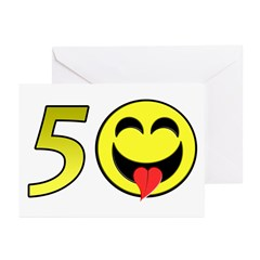 50 Greeting Cards (Pk of 10)