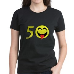 50 Women's Dark T-Shirt