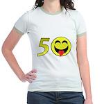50 Jr. Ringer T-Shirt