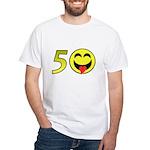 50 White T-Shirt