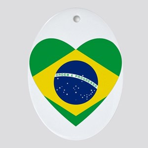 Brazil Ornament (Oval)