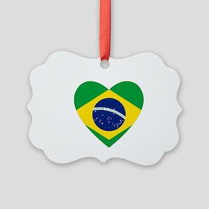 Brazil Picture Ornament