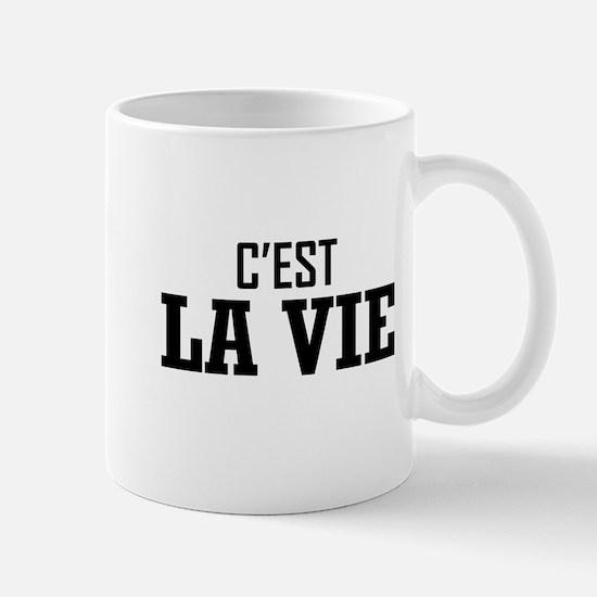 C'EST LA VIE Mugs