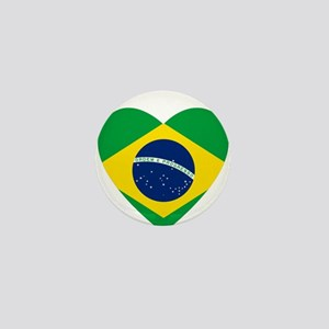 Brazil Mini Button