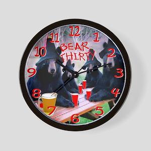 It's bear thirty wall clock Wall Clock