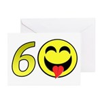 60 Greeting Cards (Pk of 10)