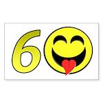 60 Rectangle Sticker