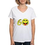 60 Women's V-Neck T-Shirt