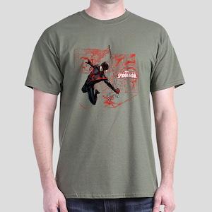 Ultimate Spider-Man Miles Morales Pan Dark T-Shirt
