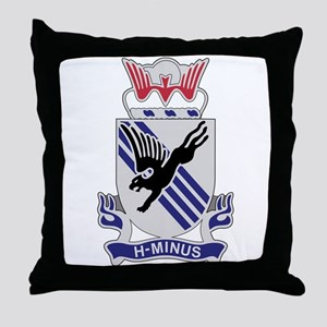 505th Airborne Infantry Regiment Throw Pillow