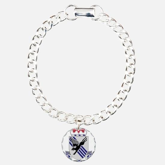 505th Airborne Infantry Charm Bracelet, One Charm