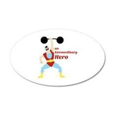 Extraordinary Hero Wall Decal