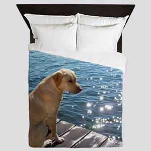 Yellow Labrador Queen Duvet