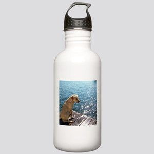Yellow Labrador Water Bottle