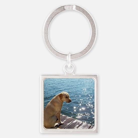 Yellow Labrador Keychains